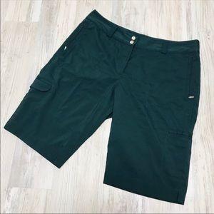 Nike Dri Fit Golf Athletic Bermuda Cargo Shorts 16